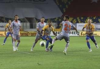 Süper Lig: MKE Ankaragücü: 1 - Medipol Başakşehir FK: 0 (İlk yarı)