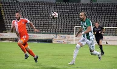 TFF 1. Lig: Giresunspor: 0 - Adanaspor: 0 (İlk yarı sonucu)