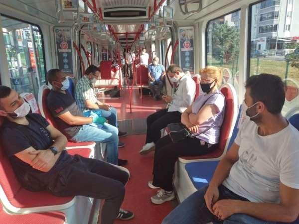 SAMULAŞ Genel Müdürü Tamgacı: 'Araçlarda gezici güvenlik personeli var'