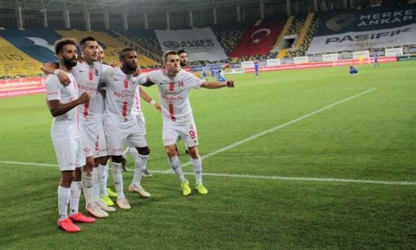 Süper Lig: MKE Ankaragücü: 0 - Fraport TAV Antalyaspor: 1 (Maç sonucu)