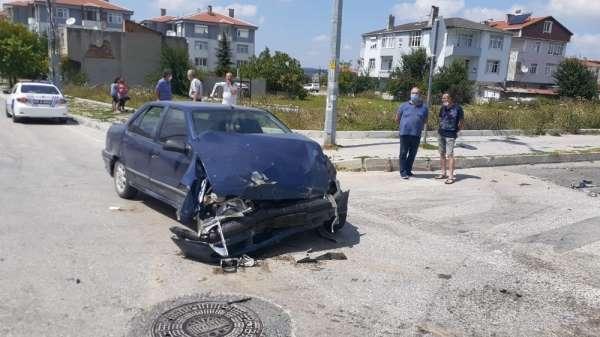 Tekirdağ'da trafik kazası: 6 yaralı