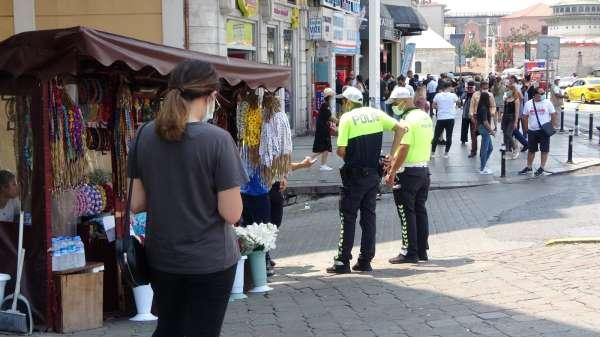 Taksimde taciz iddiası