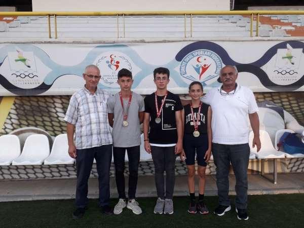 Trabzon Büyükşehir Belediyespor sporcuları atletizm festivalinde 2 altın 1 gümüş madalya kazandı