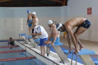 Siirtli engelli yüzücüler 14 kuralına uyarak Türkiye Şampiyonası'na hazırlanıyor