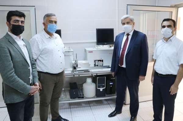 Aksaray'daki süt analiz laboratuvarı İç Anadolu'ya hizmet veriyor