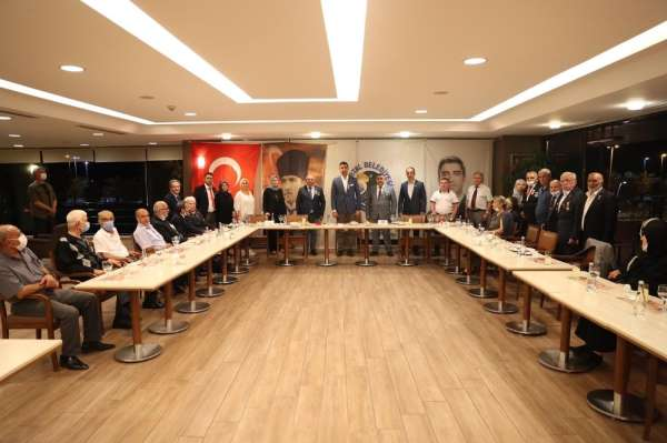 Başkan Yüksel, şehit ve gazi aileleriyle akşam yemeğinde bir araya geldi