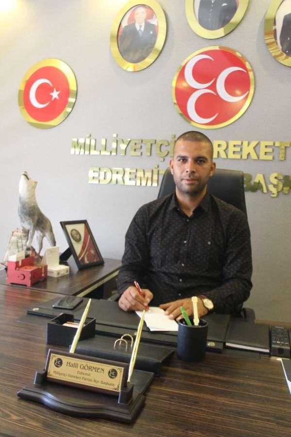 Görmen 'Türk vatanı şehit ve gazilerimizin kutlu bir mirasıdır'