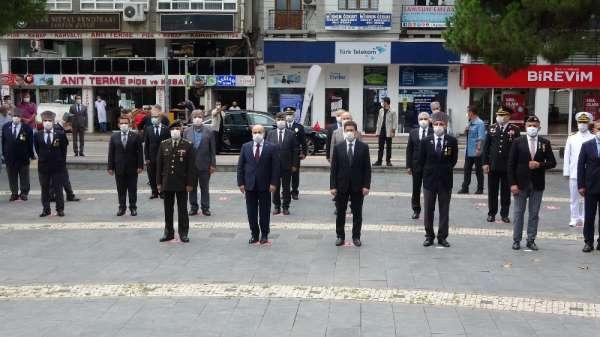 Samsun'da Gaziler Günü