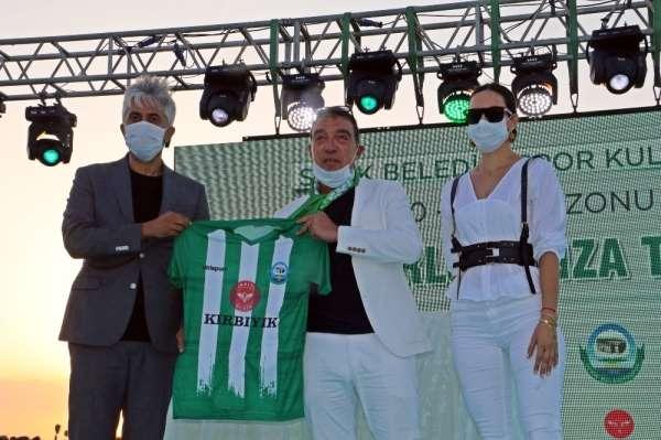 Serik Belediyespor'un göğüs reklam sponsoru Kırbıyık Holding oldu