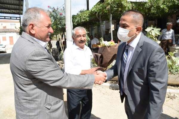 MASKİ Genel Müdürü Aslay, Sarıçamda mahallelilerle buluştu