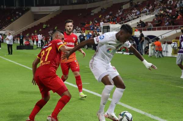 Süper Lig: A. Hatayspor: 2 - Kayserispor: 1