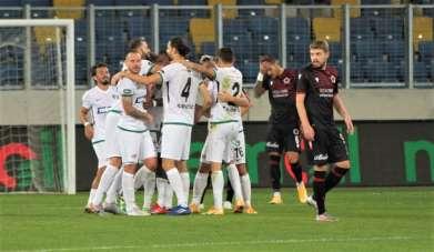 Süper Lig: Gençlerbirliği: 0 - Yukatel Denizlispor: 2 (İlk yarı)