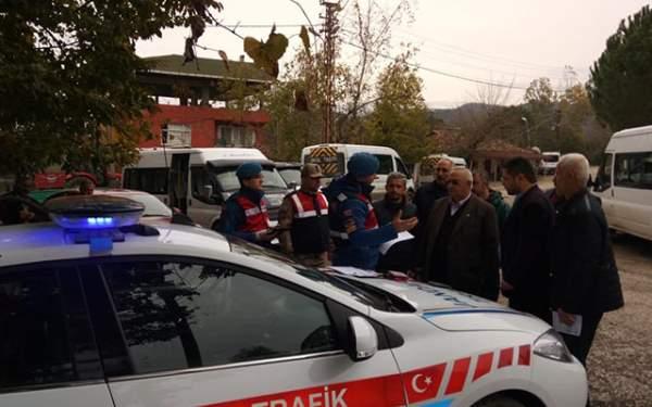 Samsun Haberleri: Salıpazarı'nda Öğrenci Servis Denetimleri Yapıldı