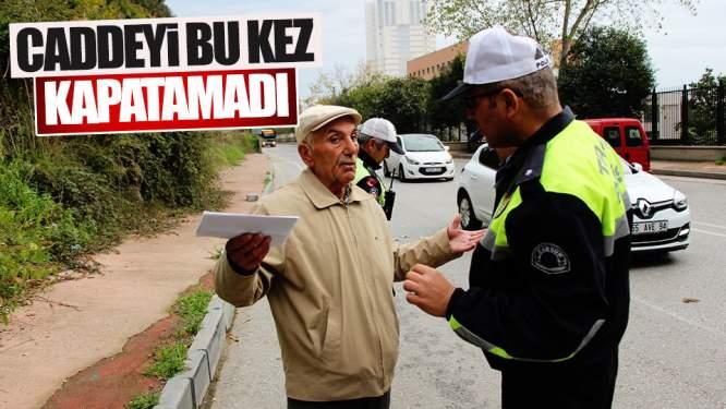 Samsun Haberleri: Caddeyi Bu Kez Kapatamadı