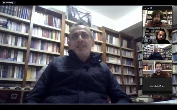 Ömer İdris Akdin: 'Kudüs bizi okuyor, biz Kudüs'ü okuyoruz'