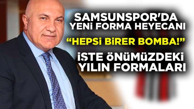 Samsunspor yeni formaları 2020-2021