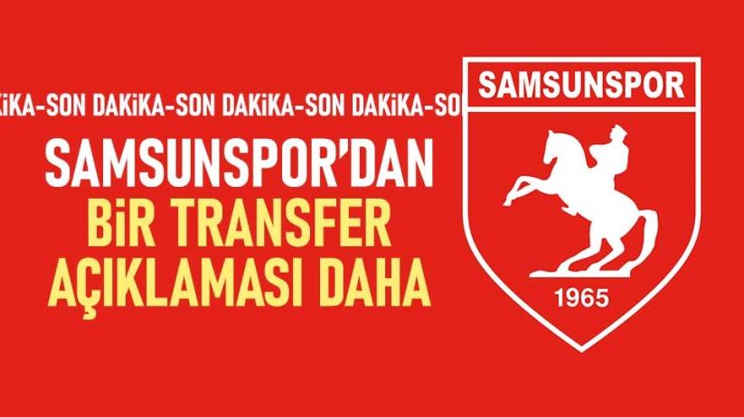 Samsunspor'dan bir müjde daha!