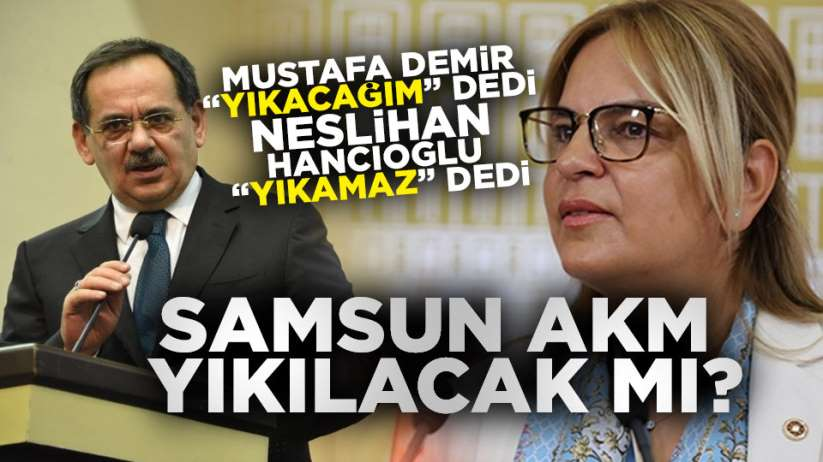 Samsun Atatürk Kültür Merkezi yıkılacak mı?
