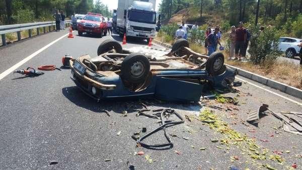 Trafik kazasında Hasan Sarıöz hayatını kaybetti, 4 kişi yaralandı