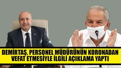 İlkadım Belediye Başkanı Necattin Demirtaş'tan korona açıklaması