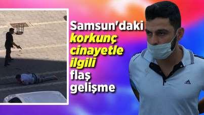 Samsun'daki korkunç cinayetle ilgili flaş gelişme