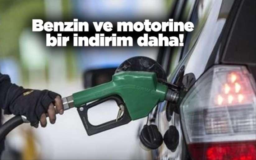 Benzin ve motorine bir indirim daha!