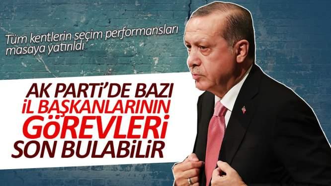 AK Parti'de kimi il başkanlarının görevleri son bulabilir
