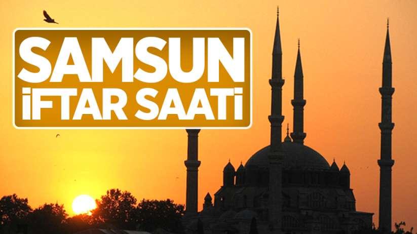 Samsun iftar saati 19 Mayıs 2020