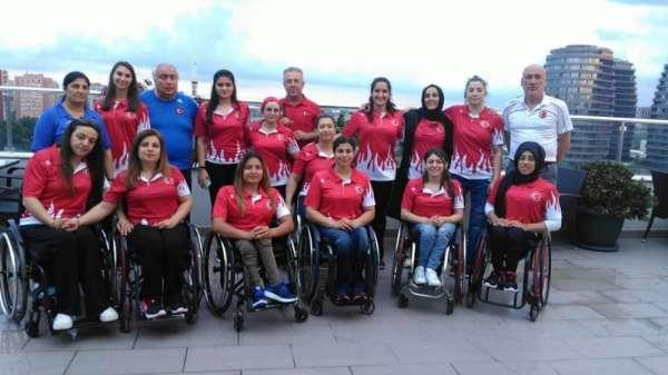 Denizli'deki tekerlekli sandalyeli sporculara milli davet