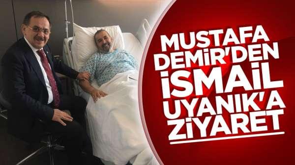 Mustafa Demir'den Samsunspor Başkanı İsmail Uyanık'a ziyaret