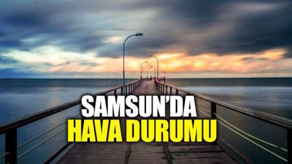 Samsun'da hava durumu (19.06.2019)