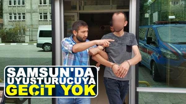 Samsun'da zehir taciri tutuklandı