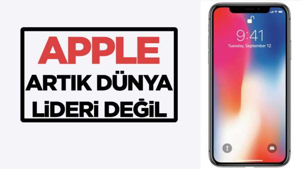 Apple, Huawei ve Oppo'ya yenildi