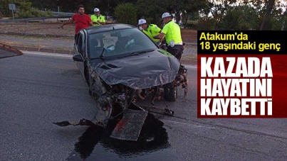 Atakum'da 18 yaşındaki genç kazada hayatını kaybetti