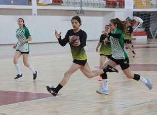 Hentbol Türkiye Şampiyonası Sivas'ta başladı