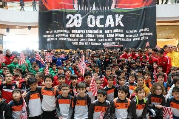 Samsunspor'a kazanın 31 yılında duygusal anma