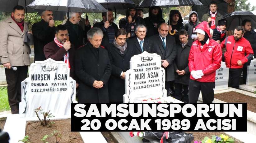 Samsunspor'un 20 Ocak 1989 acısı