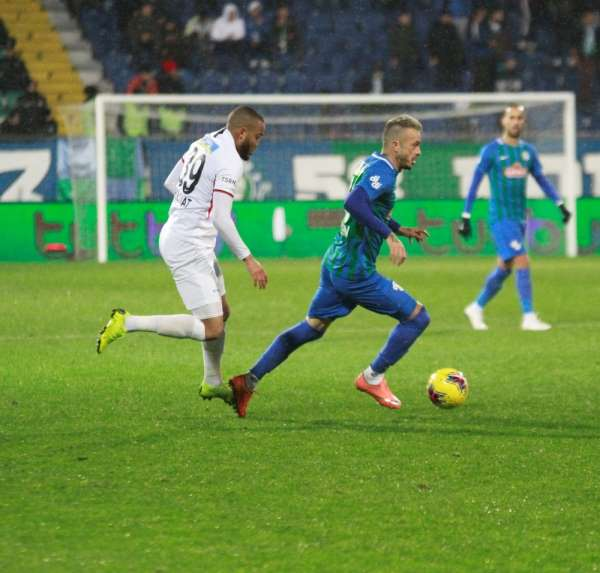 Süper Lig: Çaykur Rizespor: 2 - Gençlerbirliği: 0 Maç sonucu