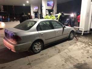 Benzinlikte kaza yapan alkollü sürücüden ilginç savunma: 'Araba kendi çalıştı, oraya gitti vurdu'