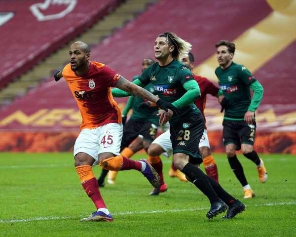 Süper Lig: Galatasaray: 3 - Denizlispor: 0 (İlk yarı)