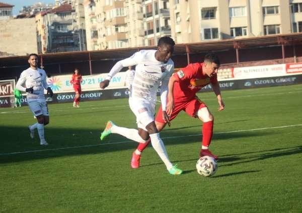 Süper Lig: Hatayspor: 0 - Yeni Malatyaspor: 0 (Maç devam ediyor)