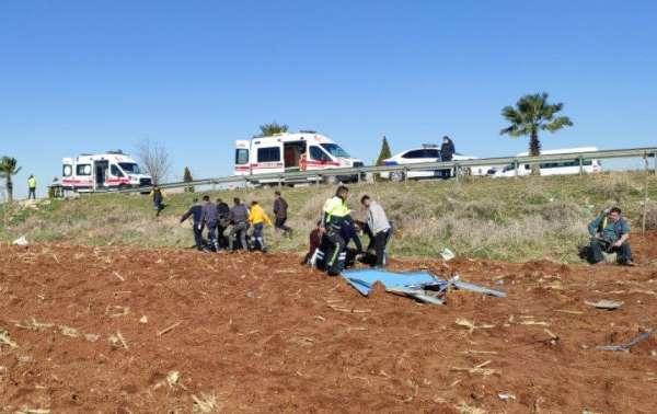 İnşaat işçileri kaza yaptı: 6 yaralı