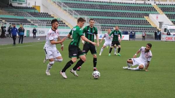Süper Lig: Denizlispor: 1 - Gençlerbirliği: 0 (İlk yarı)