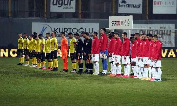 TFF 1. Lig: İstanbulspor: 0 - Samsunspor: 1