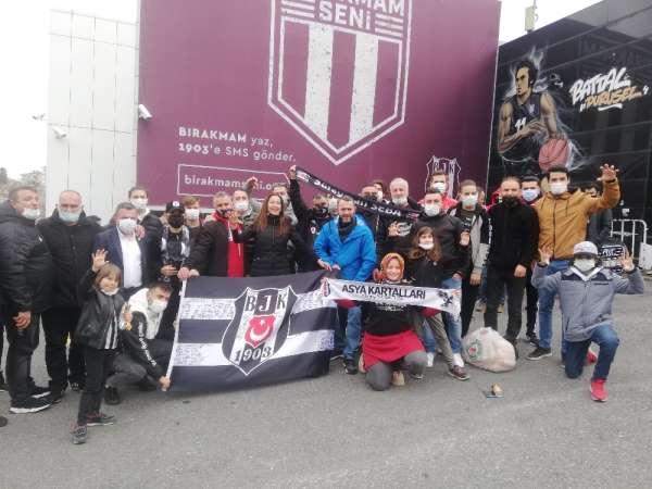 Beşiktaş taraftarından TBFye tepki: Evlatlarımızın hakkını yedirmeyiz