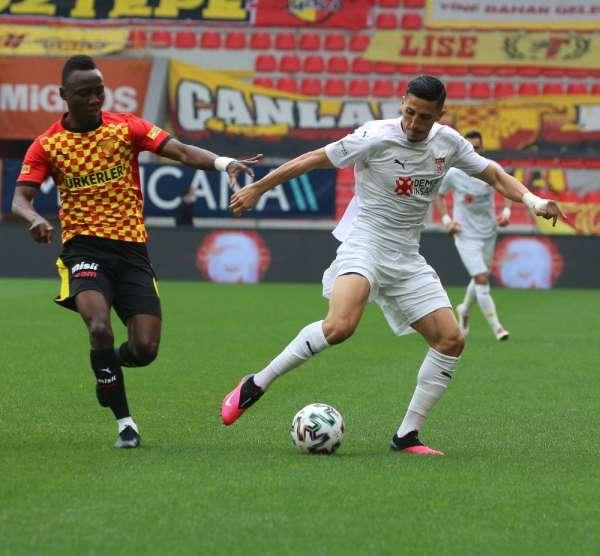 Sivassporlu Fayçal Fajr 4. golünü attı