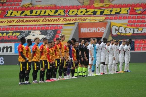 Süper Lig: Göztepe: 0 - D.G. Sivasspor: 4 (İlk yarı)