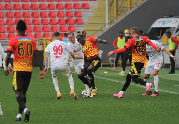 Süper Lig: Göztepe: 3 - D.G. Sivasspor: 5 (Maç sonucu)