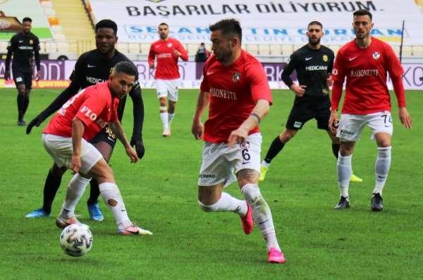 Süper Lig: Yeni Malatyaspor: 2 - Gaziantep FK: 2 (Maç sonucu)