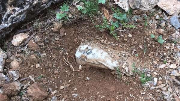 Siirt'te PKK'lı teröristlerce araziye tuzaklanan patlayıcı tespit edildi